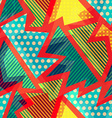 cloth bright seamless pattern vector image
