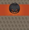 Holidays halloween vector image