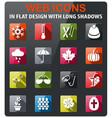seasons icon set vector image