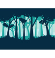 Abstract Forest Landscape3 vector image