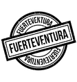 Fuerteventura rubber stamp vector image