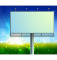 construction on green field background vector image vector image