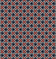 Ethnic color seamless geometric pattern vector image