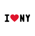 I lOVE NEW YORK3 vector image