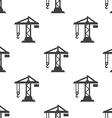 building crane seamless pattern vector image