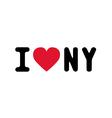 I lOVE NEW YORK3 vector image