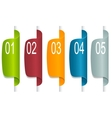 Set of Paper Tag Labels vector image