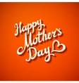 happy mothers day card brochure design vector image