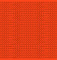 red realistic seamless knit pattern eps 10 vector image