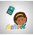 Education design school icon isolated vector image