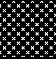 seamless texture cross pattern vector image