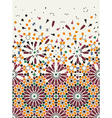 Arab pattern vector image