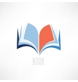 book knowledge icon vector image