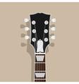 guitar neck vector image