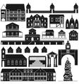 American Architecture-4 vector image