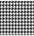 Hounds-tooth monochrome transparent pattern vector image
