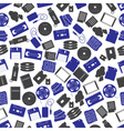 data storage media color pattern eps10 vector image