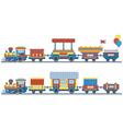 train for kids design vector image