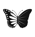 Butterfly ecology simple icon vector image