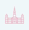 Glasgow vector image