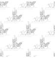 charles bridge seamless vector image vector image