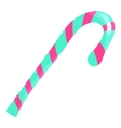 Candy cane icon cartoon style vector image