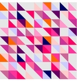 Seamless pink violet orange and white pattern vector image