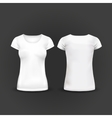 T-shirt Design template women and men vector image