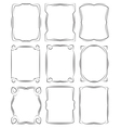 set of frames design elements Editable file vector image