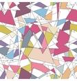 Geometric seamless simple colorful minimalistic vector image