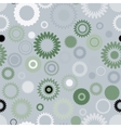 Seamless gear pattern vector image