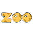 ZOO Text vector image