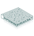 Paperwork and bureaucracy vector image