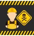 danger sign design vector image