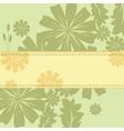 Spring Flowers Frame vector image
