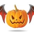 pumpkin smile2 vector image