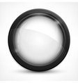 Circle design elements on vector image vector image