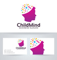 Child Mind vector image
