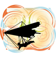 Hang Glider vector image