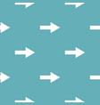 arrow pattern seamless blue vector image