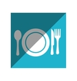 menu restaurant isolated icon vector image
