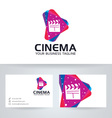 Cinema Media vector image