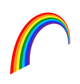 Rainbow icon cartoon 3 vector image