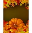 Thanksgiving template with copy space EPS8 vector image