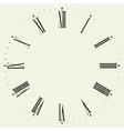 Vintage dial vector image