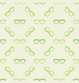 colorful glasses pattern vector image