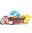 Motor sport Speed Racing vector image