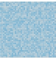 Blue tile wall vector image