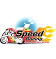 Motor sport Speed Racing vector image
