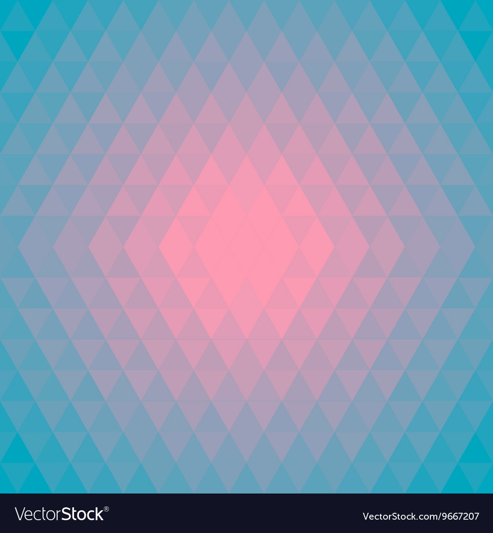 Pattern background made of triangles in trendy vector